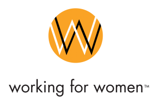 Working for Women logo - press use