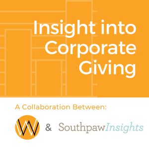 Insight to Corporate Giving